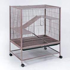 Prevue Pet Rat / Ferret / Chinchilla Cage - Smaller pets require smaller wire spacing to prevent getting their feet caught. Provide your pet rat, chinchilla or baby ferret the security it needs...