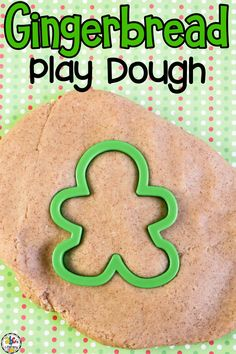 This Gingerbread Play Dough recipe is an seasonal sensory play activity that can be used as a hands-on tool to help kids learn.