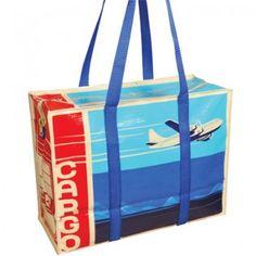 Eco Yoga or Gym Bag Blue Q Shoulder Tote - Cargo $14.99