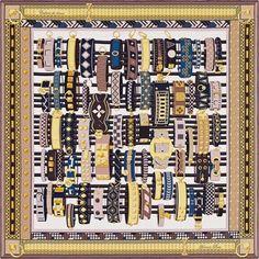 La Maison des Carrés Hermès | Colliers de Chiens