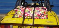 bootbag funky boot luggage rack alternative for the Triumph Spitfire