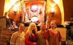 Poeta Magica at Aifur, the viking-restaurant in Stockholm, Sweden