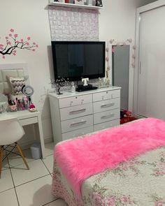 Dream Rooms, Dream Bedroom, Girls Bedroom, Bedroom Decor, Glamour Decor, Tumblr Room Decor, 3d Interior Design, Aesthetic Room Decor, Room Goals