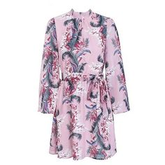 Simplee Backless lace up floral chiffon dress women Flare sleeve print mini dress Casual beach short dress femme robe 2018 Short Beach Dresses, Casual Summer Dresses, Summer Dresses For Women, Dress Beach, Dress Casual, Loose Dresses, Dress Summer, Floral Chiffon Dress, Print Chiffon