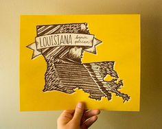 Louisiana State Print