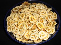 dehydrated bananas
