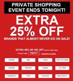 Hurry! Last chance for extra 25% off + Free Shipping at $75!  https://freshpickeddeals.com/macys.com/hurry-last-chance-for-extra-25-off-free-shipping-at-75-663780