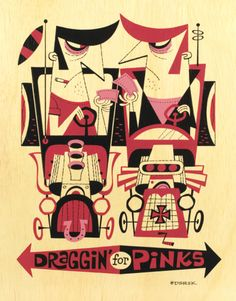 Draggin for Pinks