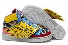 the latest d2073 2509b adidas O by O Jeremy Scott x JS Wings Collage