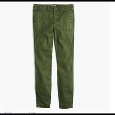 JCREW CARGO PANT UTILITY CARGO DENIM JEANS JCREW CARGO PANT UTILITY CARGO DENIM JEANS J. Crew Jeans Skinny