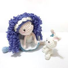 A personal favorite from my Etsy shop https://www.etsy.com/listing/519186885/amigurumi-doll-crochet-doll-amigurumi