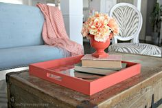 How to add a pop of color to your space - Blogger: Crafty, Scrappy, Happy