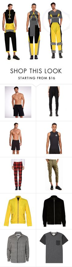 """Fashion    Collection"" by coppin-s ❤ liked on Polyvore featuring Champion, The Viridi-Anne, Rip Curl, Department 5, BERNA, David Naman, River Island, A.P.C., Billabong and men's fashion"