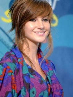 Prime Bangs Shailene Woodley And Hairstyles On Pinterest Hairstyles For Women Draintrainus