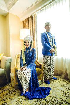 Pernikahan adat Sunda, Ayu dan Husein, di Jakarta