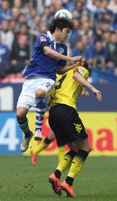 Atsuto Uchida im Trikot des FC Schalke 04.