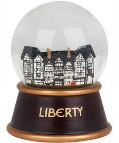 Liberty London Christmas Snow Globe
