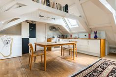 Check out this awesome listing on Airbnb: Stylish & Spatious Attic Studio - Houses for Rent in Amsterdam