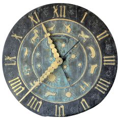 Zodiac Clock Face from the Schlitz Brewery For Sale at 1stdibs-$21,000