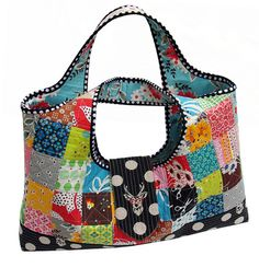 Quilts As You Go - Patchwork Bags!