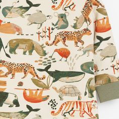print & pattern Kids Patterns, Print Patterns, Sketchbook Inspiration, Jungle Animals, Kids Prints, Quilts, Blanket, Print Ideas, Design