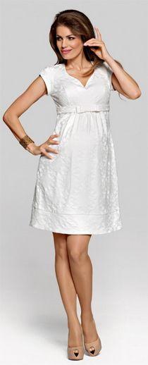 Pandora ecru Maternity dress