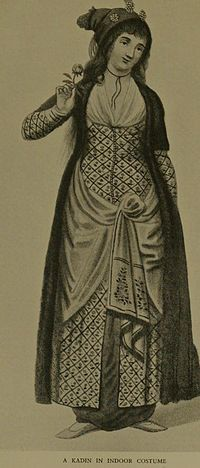 18th century turkish costume | Ottoman clothing -