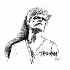 Teoman - Motosikletli Kız  #sketch #teoman #ink
