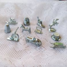 Monopoly Parker The Walking Dead Pewter Replacement Playing Pieces Tokens