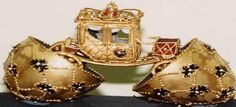 Faberge Egg with Carriage.