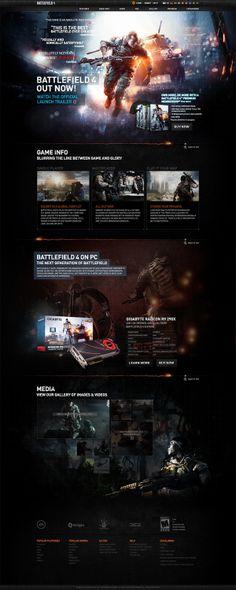 Battlefield 4 by Emerson Bantegui, via Behance