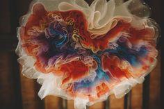 colorful petticoat http://weddingwonderland.it/2015/05/matrimonio-rockabilly-colorato.html