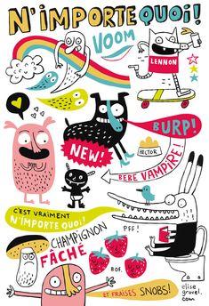 Elise Gravel • Doodles