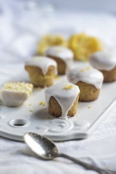 Mini cakes au citron - Eat Me Baby