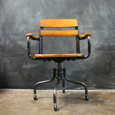 School Chair now featured on Fab.