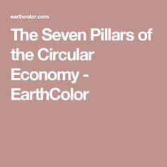 The Seven Pillars of the Circular Economy - EarthColor