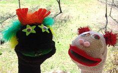 Cool Stuff Art Gallery: Sock Puppet Art Project