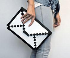 8-bit pixel macbook sleeve