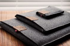 what is it about grey felt that creates a whole new level of style in a product?