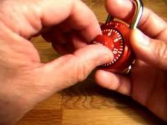Masterlock Combination Padlock - Crack Open in 40 seconds without Combination. Easy and Quick - YouTube
