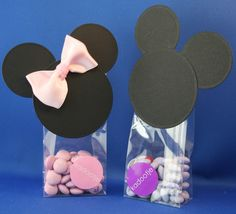 kittys craft With tutorial..also in english!  www.kittyfranken.blogspot.com/  Mickey en mini mouse favor
