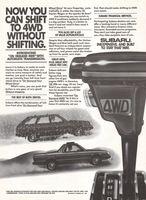Subaru GL Station Wagon 1983 Ad Picture