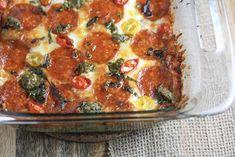 Pizza Casserole : ketorecipes