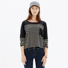 Love simple, slouchy, and effortless tops like this one!  All that I want… is this. (And to win a trip for two to Paris from @Madewell. #giftwell #sweeps)