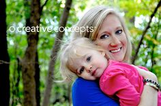 Mother / daughter pose - Fall Photography
