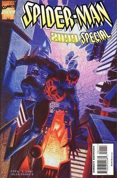 Spider-Man 2099 Special vol 1 Marvel 2099, Marvel 3, Marvel Universe, Marvel Comics, Comic Book Covers, Comic Books Art, Book Art, Spiderman, Scarlet Spider