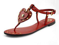 tory burch heart sandal