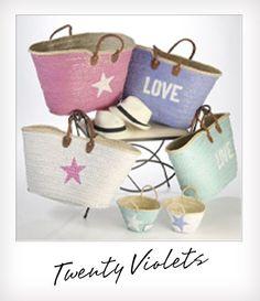 TwentyViolets Ibiza look tassen in diverse maten en kleuren te verkijgen. Hebben Hebben Hebben!