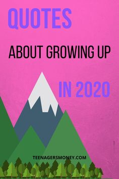 Growing up can be hard, it's even harder now that 2020 has been such a gong show. You've got to check out the top quotes about growing up in 2020. #2020 #quotes #quotesaboutlife #lifequotes #growingup Top Quotes, Best Quotes, Life Quotes, Growing Up Quotes, College Survival, Great Life, Business Quotes, About Me Blog, How To Apply