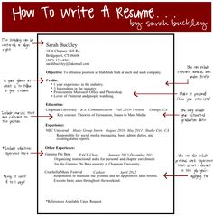 how to write a simple resume for a job
